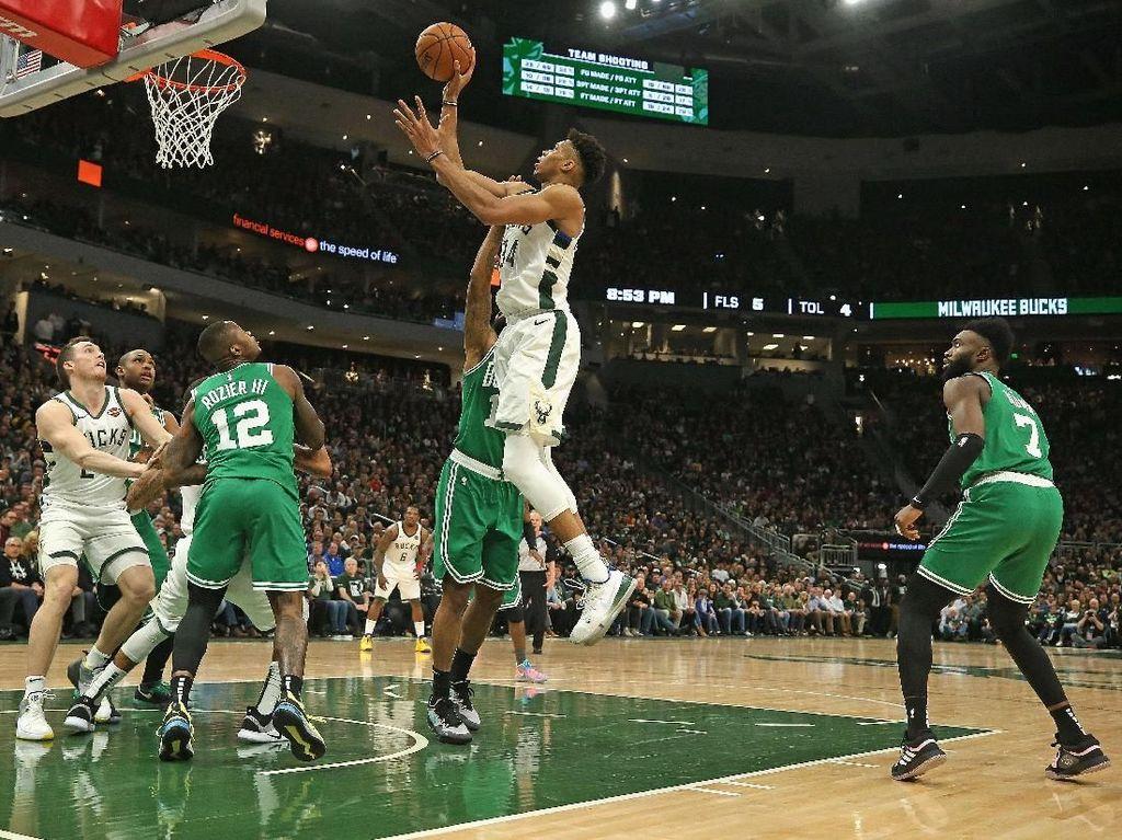 Bucks Tumpas Celtics di Gim Kelima, Lolos ke Final Wilayah Timur NBA
