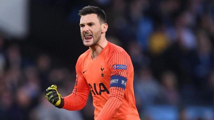 Hugo Lloris menilai Tottenham tak boleh kebobolan di menit awal laga saat hadapi City (Foto: Laurence Griffiths/Getty Images)