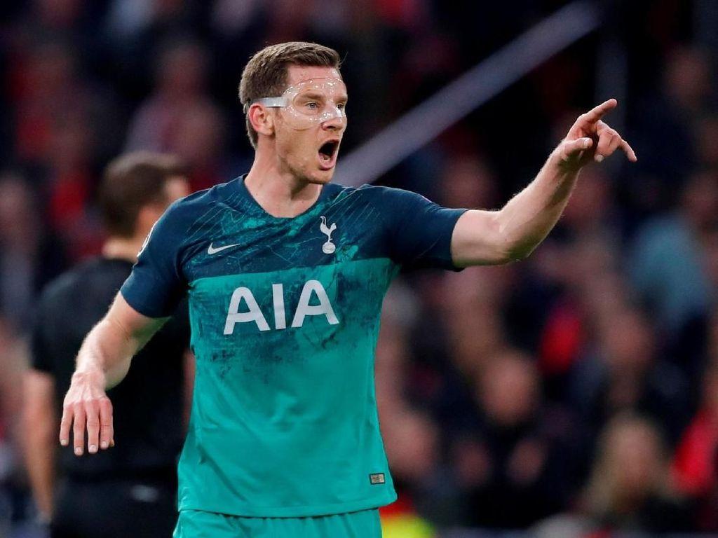 Jan Vertonghen Diragukan Tampil di Final Liga Champions