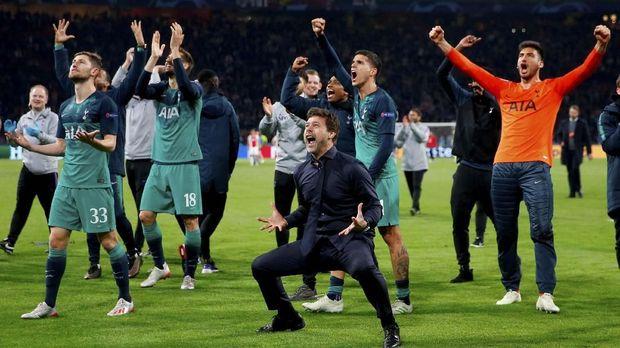Tottenham lolos ke final Liga Champions usai singkirkan Ajax.