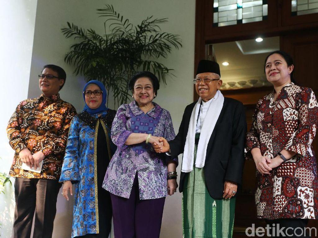 Bertemu, Megawati dan Maruf Bahas Bahaya Aksi Inkonstitusional