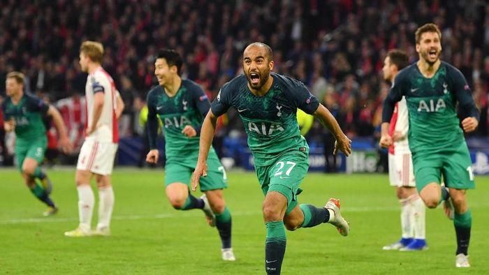 Tottenham Hotspur ke final Liga Champions. (Foto: Dan Mullan/Getty Images)
