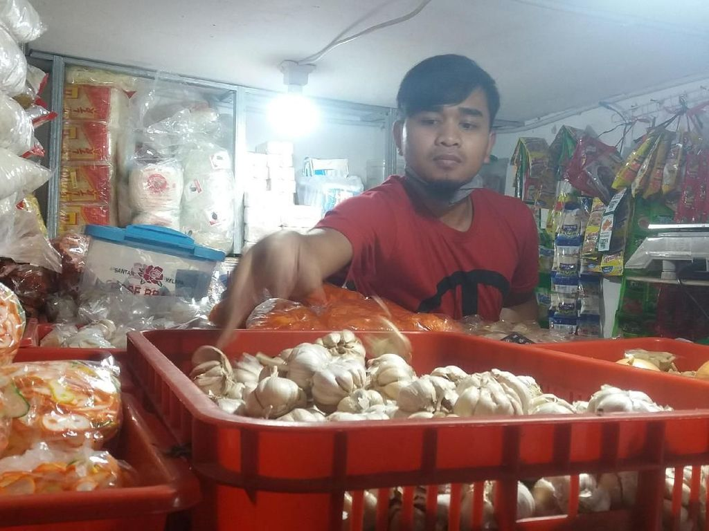Harga Bawang Putih di Lembang Turun ke Rp 48.000/Kg