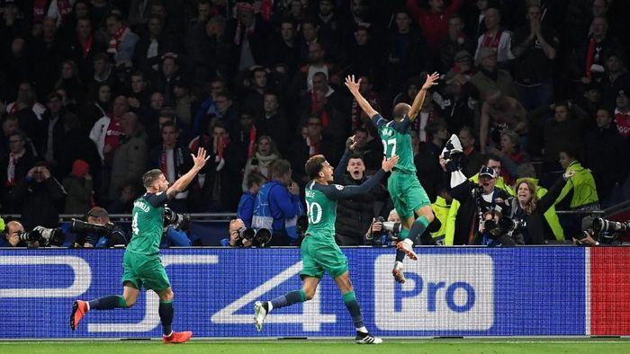Tottenham Hotspur melangkah ke final Liga Champions (REUTERS/Piroschka Van De Wouw)