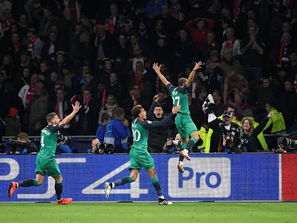 Dramatis! Tottenham Comeback dan Singkirkan Ajax