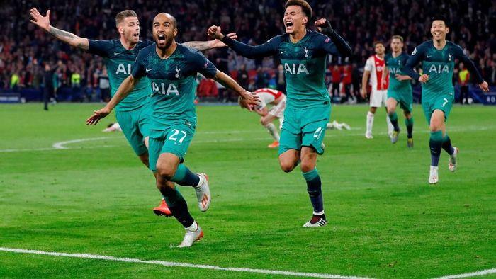Striker Man United Marcus Rashford berharap Tottenham Hotspur akan menjarai Liga Champions. (Foto: Reuters)
