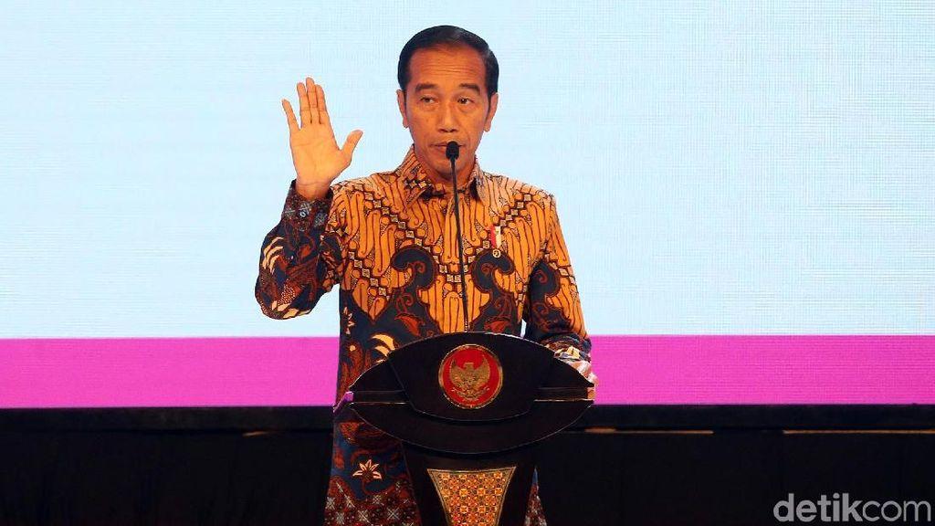 Gaya Jokowi Saat Buka Musrenbangnas 2019