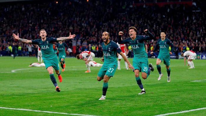 Tottenham Hotspur membalikkan keadaan atas Ajax untuk lolos ke final Liga Champions (Foto: Matthew Childs/Action Images via Reuters)