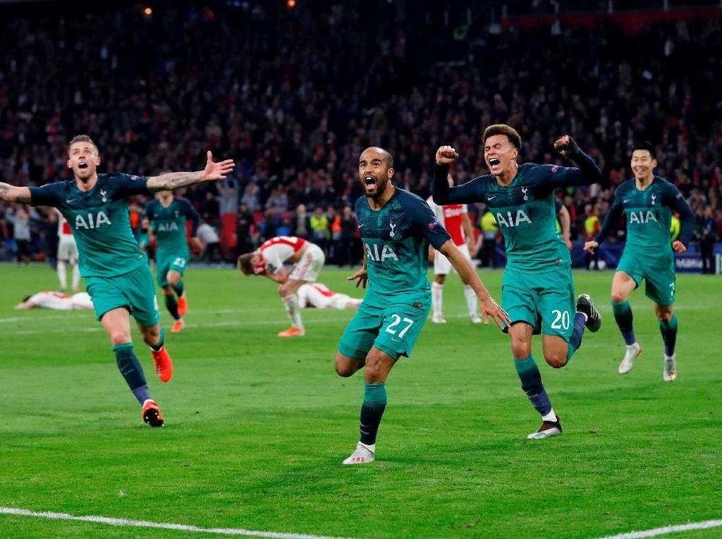 Ajax vs Tottenham: Angka-Angka di Balik Comeback Spurs