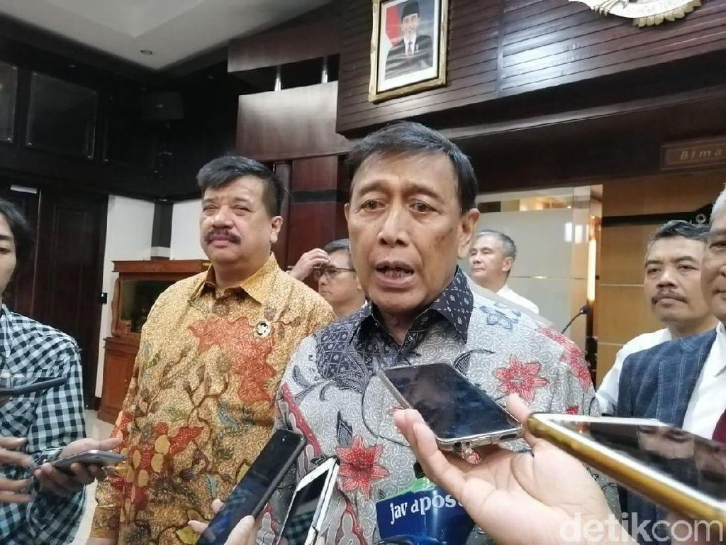 Resmi Dibentuk, Ini Deretan Pakar Tim Hukum Bentukan Wiranto