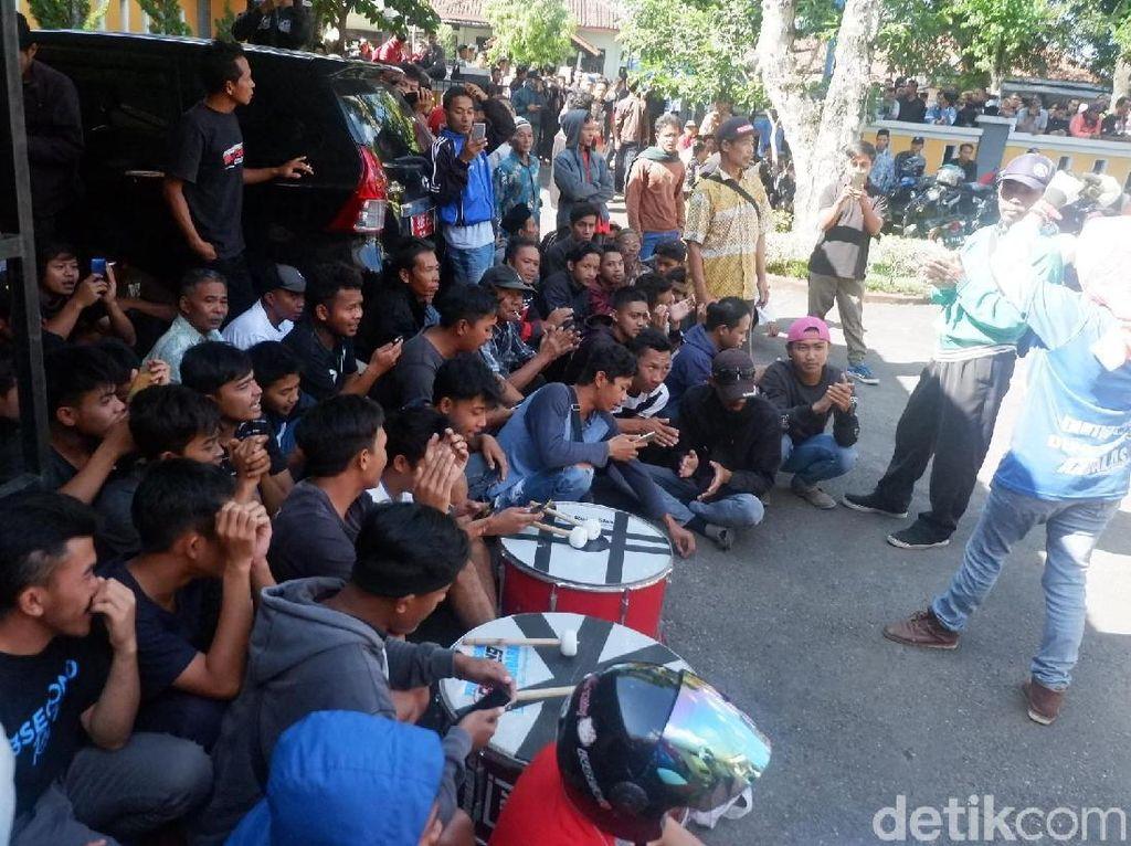 Suporter Kawal Sidang Pengaturan Skor di PN Banjarnegara