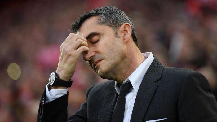 Resmi! Barcelona Pecat Ernesto Valverde