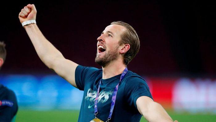 Harry Kane optimistis tampil di final Liga Champions. (Foto: Matthew Childs/Action Images via Reuters)