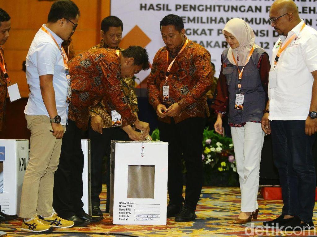 KPU DKI Jakarta Gelar Pleno Rekapitulasi Pemilu 2019