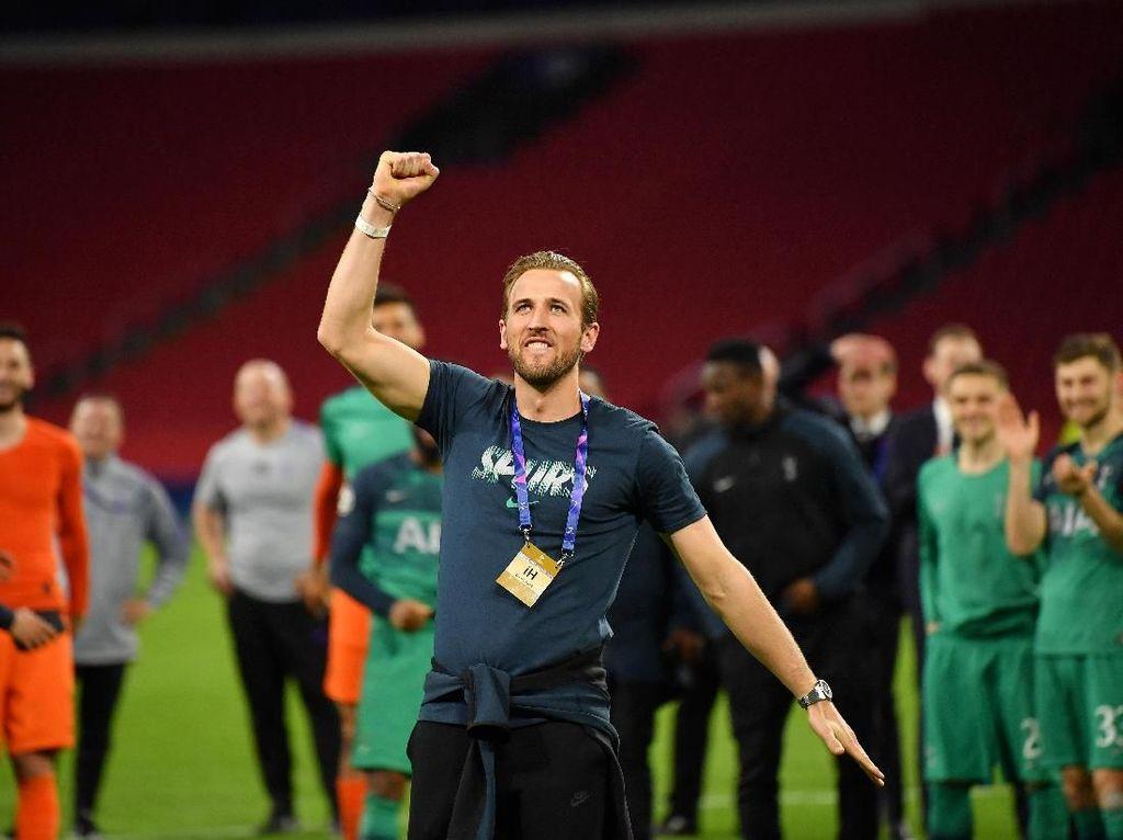 Antara Yakin Tak Yakin: Kane Sempat Berpikir Keberuntungan Tottenham Habis