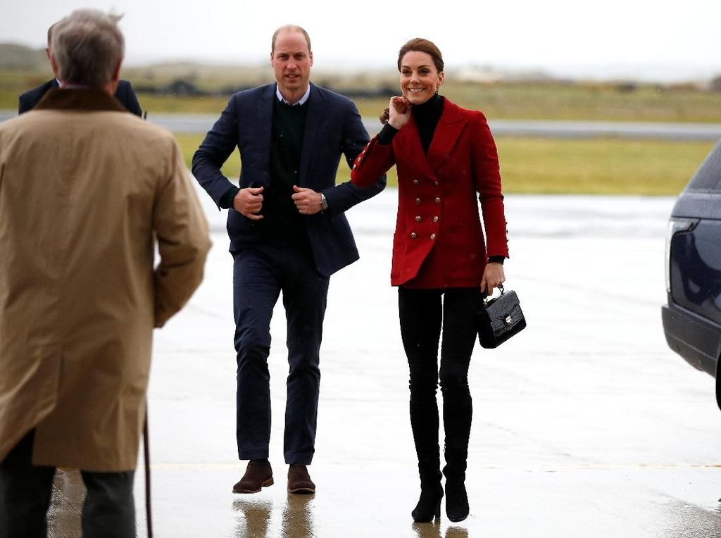 Sibuk, Kate Middleton dan Pangeran William Akhirnya Bertemu Anak Meghan Markle