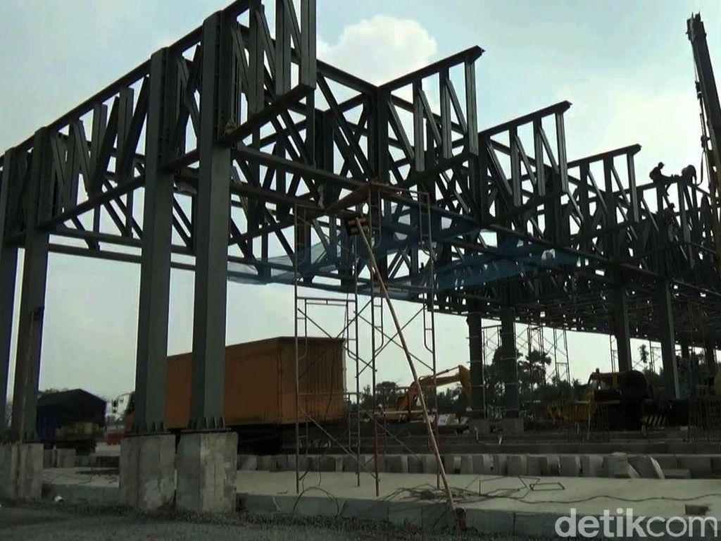 Kurangi Macet Tol Japek, Gerbang Tol Cikampek Utama Dibangun
