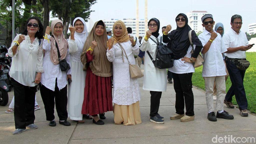 Penampakan Massa Pita Kuning yang Akan Demo KPU-Bawaslu Pukul 13.50 WIB