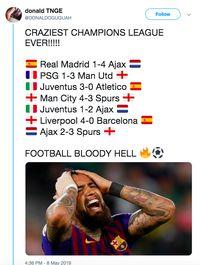 Netizen Sepakat Ini Liga Champions Tergila