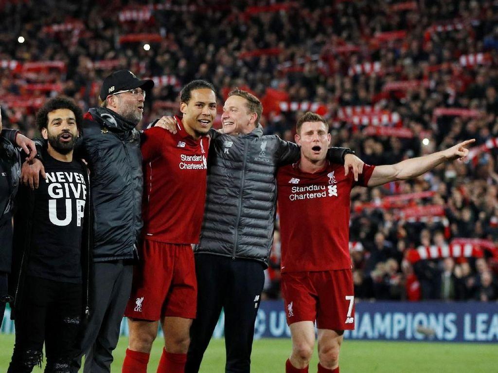 Karena Liverpool Memang Bertekad ke Final Liga Champions Lagi