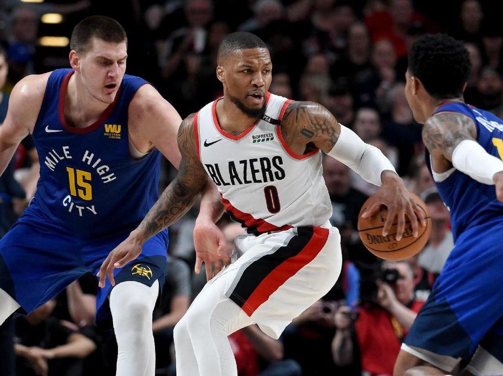 Hasil NBA: Menang 119-108, Blazers Paksakan Game 7 Lawan Nuggets