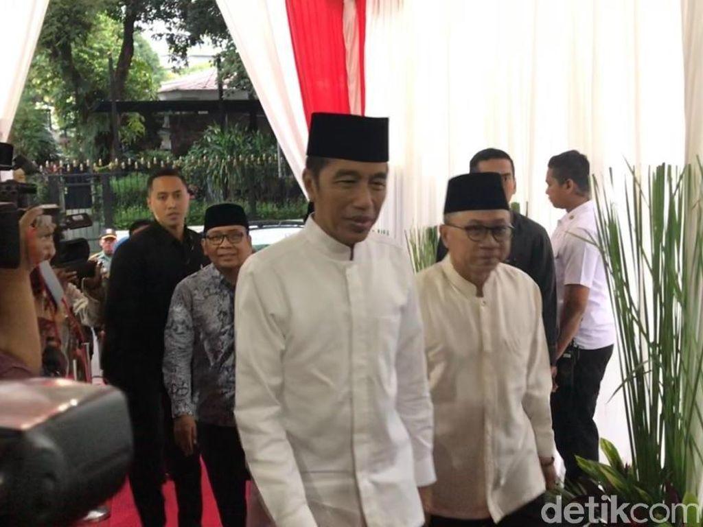 Jokowi-JK Buka Puasa Bareng di Rumah Dinas Zulkifli Hasan