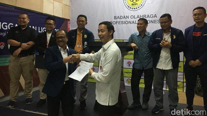 BOPI merekomendasikan berjalannya Liga 1 2019, kendati PT LIB punya banyak utang. (Mercy Raya/detikSport)