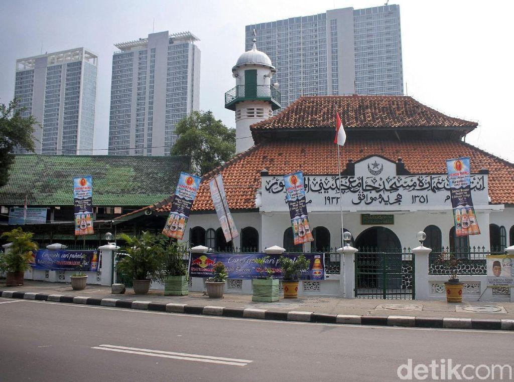 Menengok Masjid Peninggalan Maestro Lukis Raden Saleh di Cikini