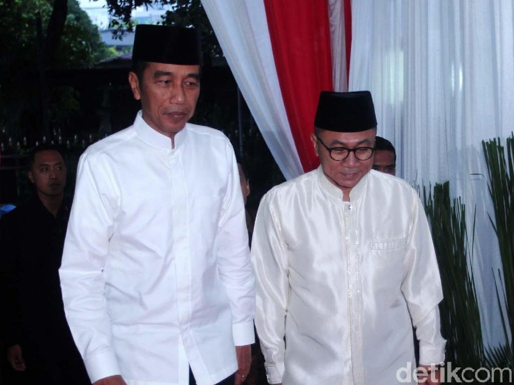 PAN soal Wacana Pindah Koalisi: Kita Doakan Jokowi Sukses Pimpin Negara