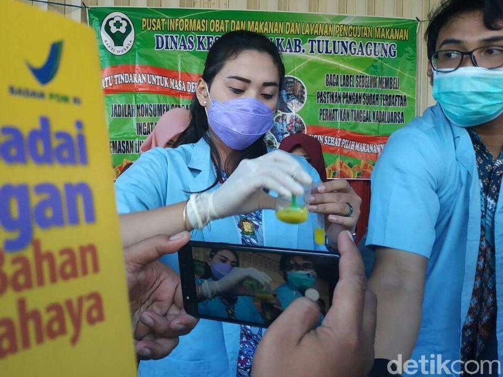 Dinkes Tulungagung Temukan Takjil Mengandung Bahan Kimia Berbahaya