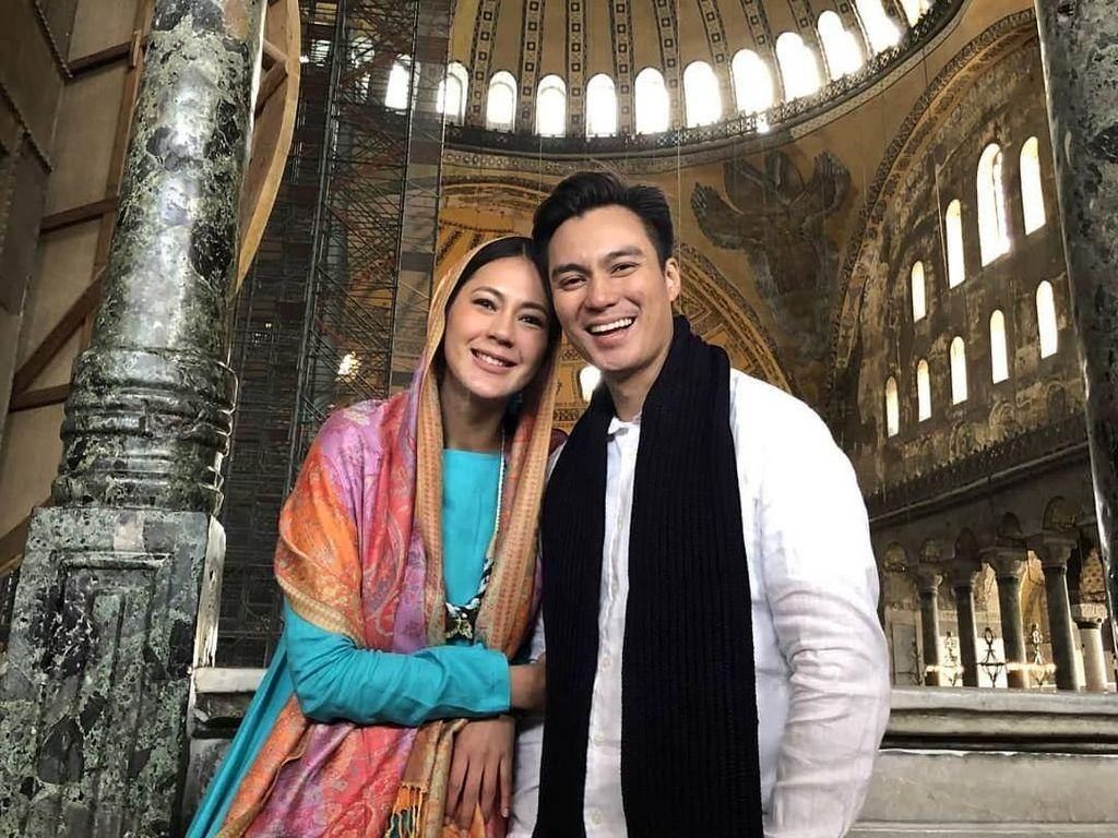 Lebaran Bareng Perdana, Paula dan Baim Wong Dikaruniai Banyak Rezeki