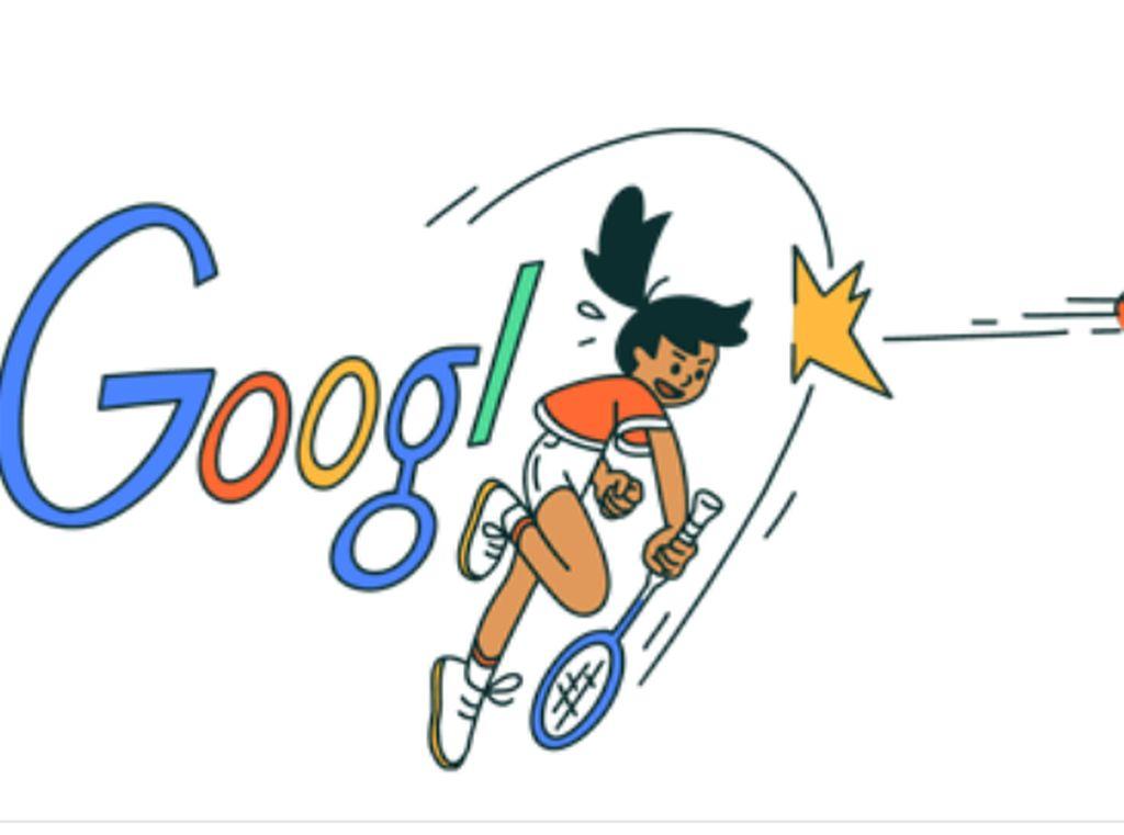 Google Doodle Spesial Untuk Minarni Si Nona Manis Ratu Bulutangkis