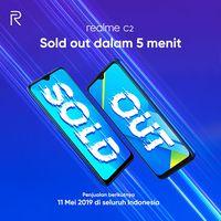 Jualan Laris, Realme 3 Pro & C2 Habis dalam Hitungan Menit