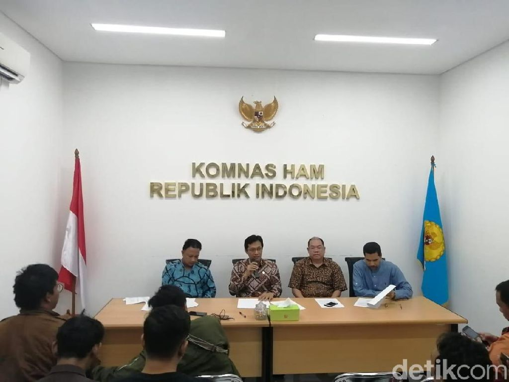 Komnas HAM Kritik Tim Asistensi Hukum Bentukan Wiranto, Ini Alasannya