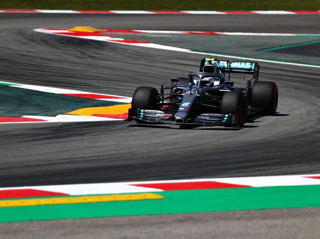 Ungguli Duo Ferrari, Bottas Tercepat di Latihan Bebas Pertama GP Spanyol