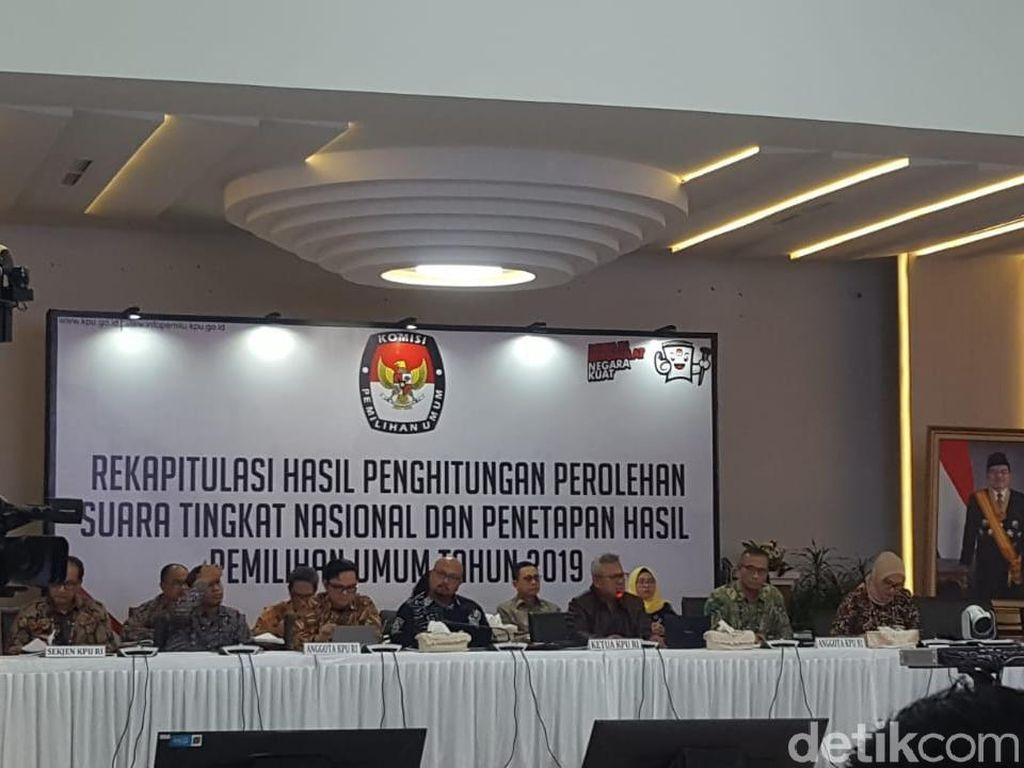 Rekapitulasi Nasional KPU, Jokowi-Maruf Menang Telak di Bali