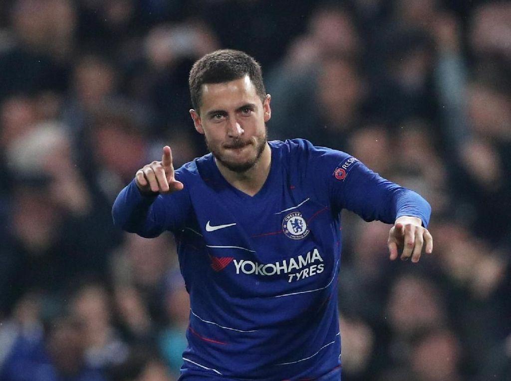 Eden Hazard Raja Assist Premier League 2018/2019