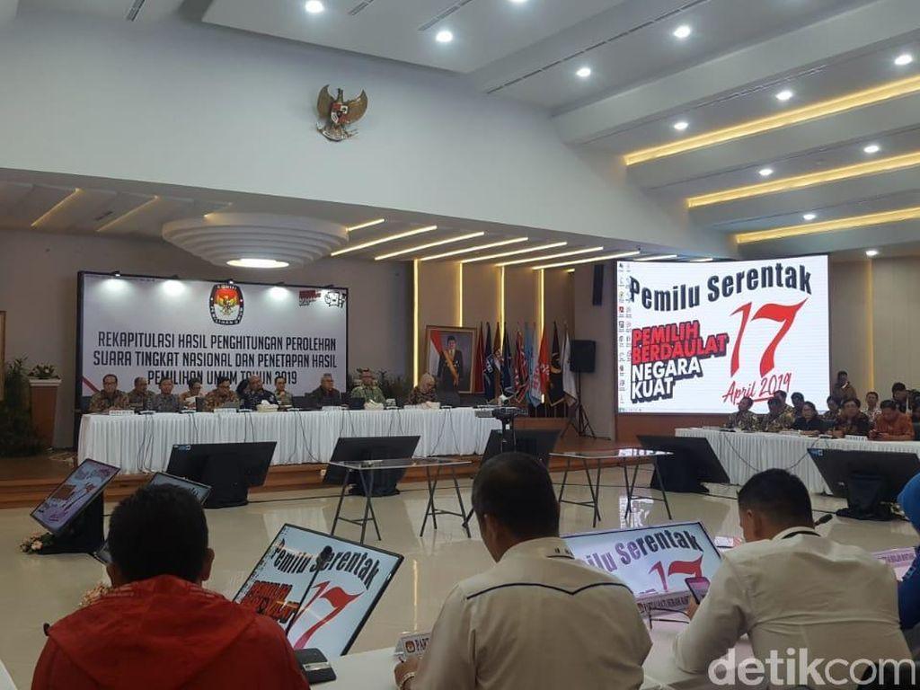 Rekapitulasi Suara KPU: Jokowi Ungguli Prabowo di Sulawesi Utara