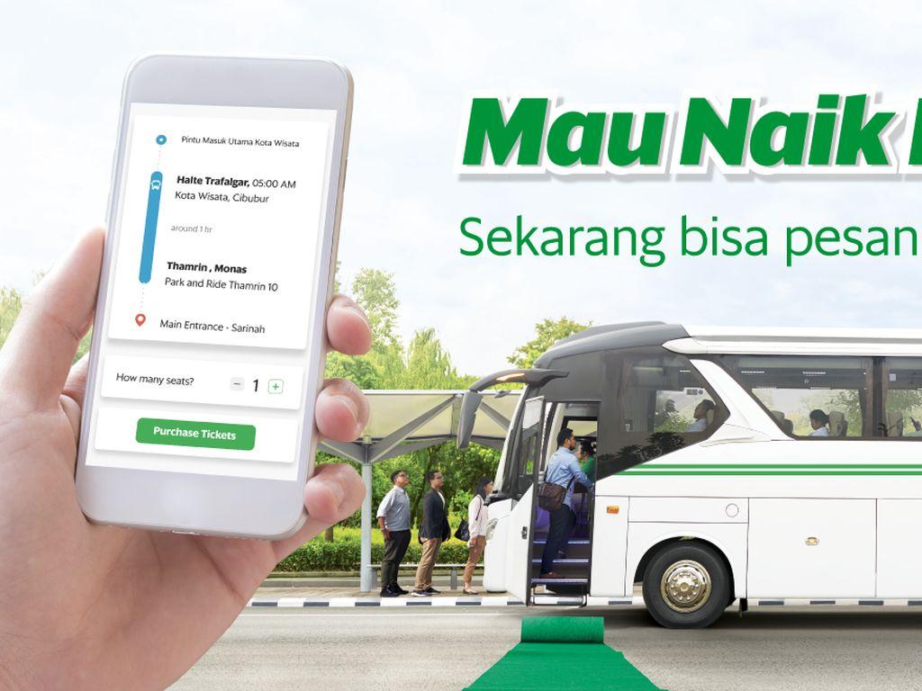 Pesan Tiket Bus Kini Bisa Lewat Aplikasi Grab