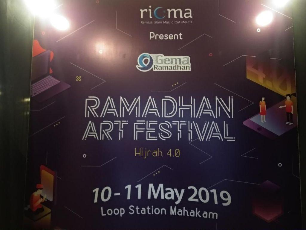 Mural Sepanjang 6 Meter Ajak Berbuat Kebaikan di Bulan Ramadhan