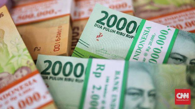 Penukuran uang baru di Bank Indonesia cabang Thamrin, Jakarta, 10 Mei 2019. Bank Indonesia menyiapkan uang baru pecahan Rp2.000, Rp5.000, Rp10.000 dan Rp20.000 untuk menghadapi bulan Ramadan dan Hari Raya Idul Fitri 1440 H. CNN Indonesia/Hesti Rika