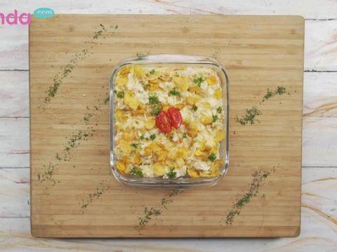 Menu Sahur: Creamy Cornflakes Chicken Bikin Anak Semangat Puasa