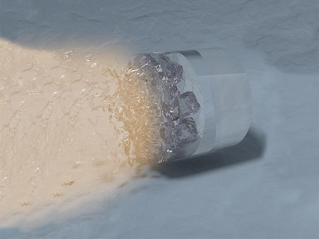 Edan! Ilmuwan Bikin Es yang Malah Beku di Suhu Panas Ekstrem