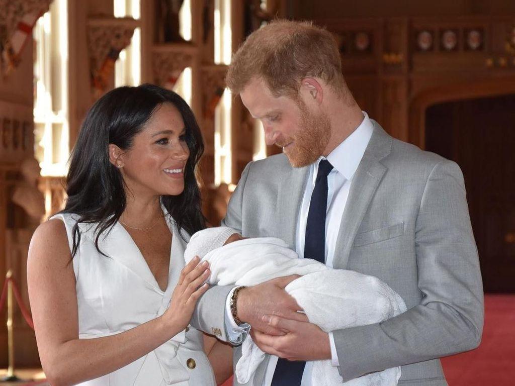 Putra Pangeran Harry-Meghan Markle Bisa Dapat Gelar Pangeran, Ini Syaratnya