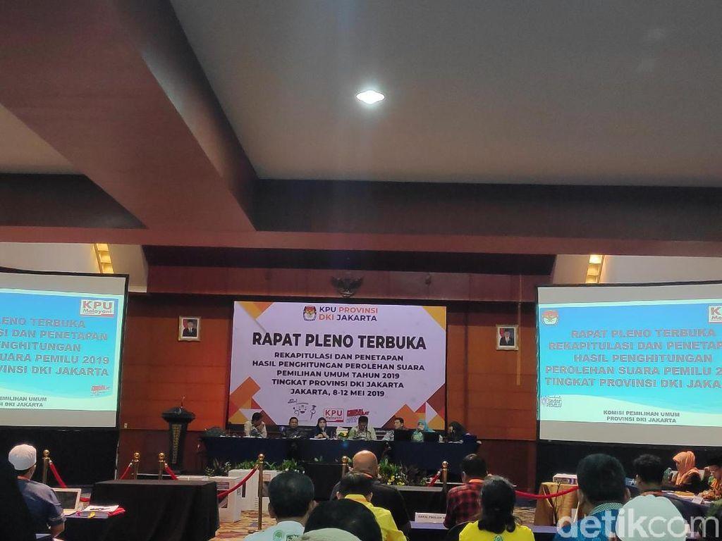 Jokowi Menang, Saksi Prabowo Tolak Teken Hasil Rekapitulasi DKI