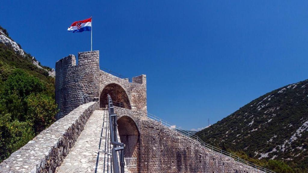 Foto: Tembok Besar China Ala Eropa