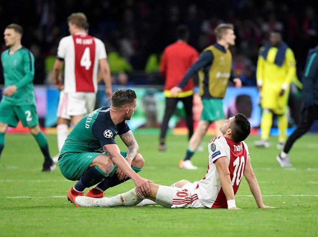 Sedih Ajax Tersingkir, Alderweireld Tak Antusias Rayakan Kelolosan Spurs