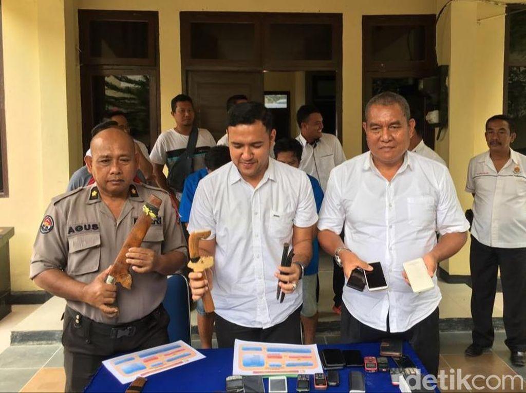 Polda Sultra Tangkap 2 Pencuri Spesial Ramadhan, HP hingga Parang Diamankan