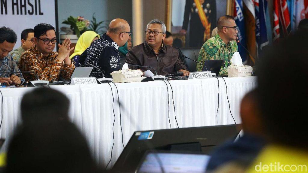 KPU Gelar Rekapitulasi Nasional Pemilu 2019
