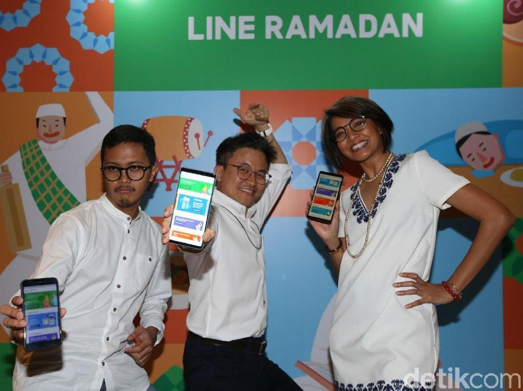 Line Hadirkan Fitur Ramadan